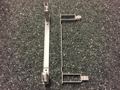 Wandhalterung zu Schaltstange D30mm (grau)