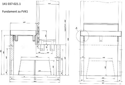 FS1 FILENIT Fertigfundament - 2-teilige Schachtabdeckung 1t
