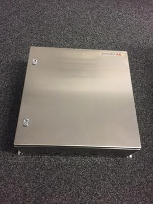 Erdtrennerkasten 3-polig kompl. - Ausführung Chromstahlschrank 600x600x250mm