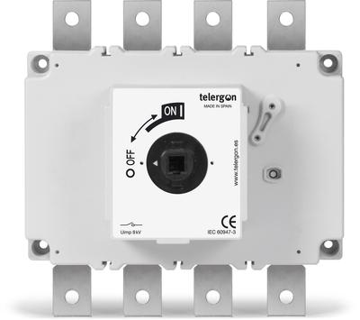 TELERGON Lasttrennschalter S6 - 400A